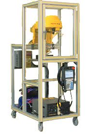 Fenced CERT Cart (M1iA FANUC Robot)