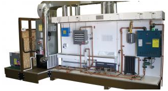 Combination Forced Air & Hydronic Heating TrainerTU-208